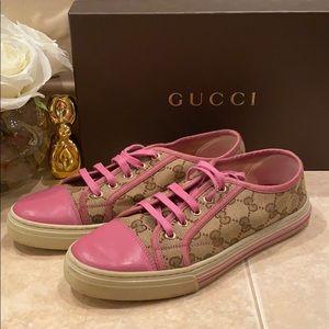 Gucci Gg logo pink sneaker